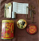 Stesco Vintage Brass Camping Backpack Stove
