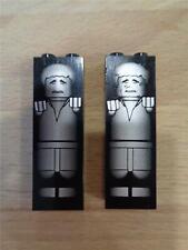 2 Lego Star Wars Han Solo congelado en carbonita figuras 1X2X5 ladrillos