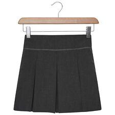 e9673861e Niña Escuela Plisada Falda Negro Gris Azul Marino Uniforme Escolar