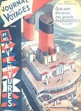 REVUE JOURNAL DES VOYAGES N°43. 1946.
