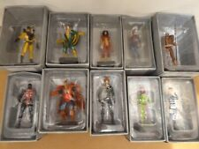 10 X Eaglemoss Marvel DC   Collectable Metal Figures Boxed