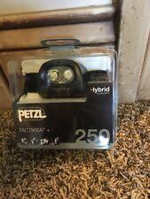 Petzl TACTIKKA + Black PLUS HYBRID CONCEPT Headlamp 250 Lumens New!!