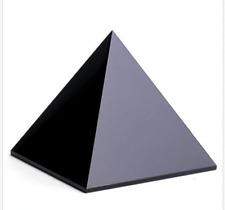 100% Natural Quartz Crystal Obsidian Pyramid Healing 40MM