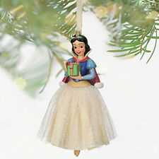 NEW 2013 Disney Store Princess SNOW WHITE Sketchbook Christmas Ornament Dwarfs