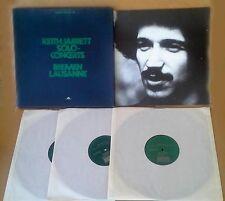 KEITH JARRETT - SOLO CONCERTS / BREMEN LAUSANNE - ECM - 3 LP BOX SET + BOOKLET