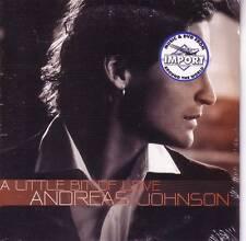 ANDREAS JOHNSON A Little Bit of Love REEMIX 2TRX CD SLD