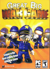 Great Big War Game (PC, 2012, Rubicon, SEALED NEW) - Free USA Shipping