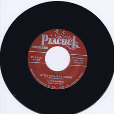 LITTLE RICHARD - LITTLE RICHARD'S BOOGIE / DIRECTLY FROM MY HEART- HOT R&B JIVER