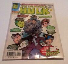 Marvel Comics: The Incredible Hulk #-1 Flashback Nm