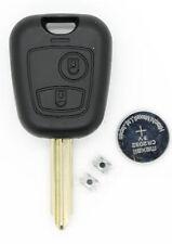 Se adapta a Citroen Saxo berlnigo Xsara Picasso Etc 2 botón remoto clave Kit de reparación
