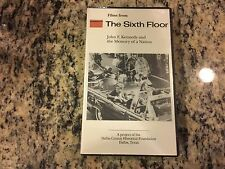 FILMS FROM THE SIXTH FLOOR RARE NEW SEALED VHS! JFK JOHN F KENNEDY ASSASSINATION