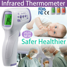 Infrared Thermometer Digital LCD Forehead No-Touch Body Adult Temperature Gun US