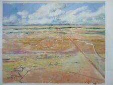 Neville Weston Welsh/Australian Artist 1936-2017 Outback Aerial No 7 1988