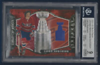 LARRY ROBINSON 2001-02 BAP ULTIMATE STANLEY CUP NUMBERS 7/10 BECKETT 9 14325