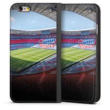 Apple iPhone 6 Tasche Hülle Flip Case - Stadion FC Bayern - Color