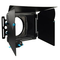 FOTGA DP3000 M1 Sunshade Matte Box Mattebox for DSLR 15mm Rod Rail Support Rig