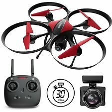 Force1 Drones With Camera - U49C Red Heron Quadcopter Drone With Camera And Dron