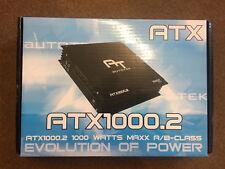 Autotek ATX1000.2 2 CAR AUDIO AMPLIFICATORE 1 o 2 canali 1000w MAX POWER