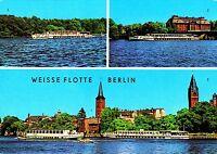 Weisse Flotte Berlin ( DDR )  , Ansichtskarte ungelaufen