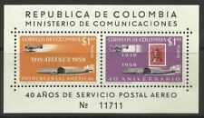 Timbres de l'Amérique latine sur l'aviation
