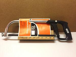 """Vintage Taurus 9""""-12"""" Adjustable Hacksaw Frame + Blade Made in Spain"""