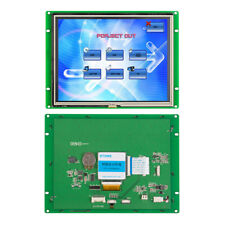Industrial LCD Monitor HMI TFT LCM Module Resistive Touch Screen 8.0 inch