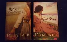 Delia Parr, Lot of 2 TPB, Hearts Awakening & Loves First Bloom