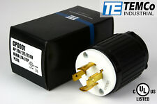 TEMCO NEMA L14-20P Male Plug 20A 125/250V Locking UL Listed for Generator
