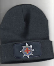 """WOOLLEY HAT""  WITH COLDSTREAN GUARDS EMBROIDERED  BADGE"