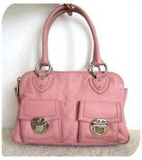 Marc Jacobs Pink Sofia Sophia Leather Tote Bag Purse Leather Satchel Signature