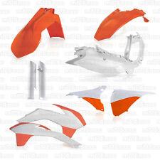 FULL KIT COMPLETO PLASTICHE CARENATURE ACERBIS KTM EXC EXC-F 2014 2015 REPLICA