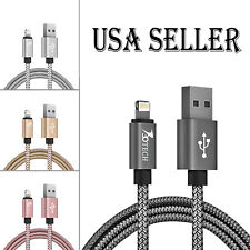 730TECH 6FT Heavy Duty Lightning Cord Charger For Apple iPhone MAX RX X 8 7 6s +