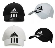 a4d70743 Adidas 6 Panel 3 Stripes Mens Baseball Cap Sports Golf Adjustable Cotton  Hats