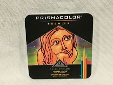 Prismacolor Premier Colored Pencils Soft Core 48 Count Smooth Rich Color Laydown