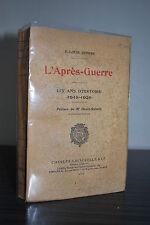 L'après Guerre - P. Louis Rivière - Henri Robert