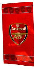 Arsenal Football Club Red Towel Soft Logo Bath Shower Sports Summer Beach