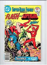 DC SUPER-TEAM FAMILY #11 Presents the Flash and Supergirl 1977 NM Vintage Comic