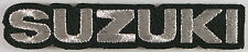 Suzuki Motorcycle Text Iron on Patch, Bikers, Japan