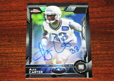 2015 Topps Chrome ALEX CARTER RC Rookie Black Refractor On-Card Auto #'d 04/25 !
