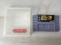 Super Mario All Stars Super Nintendo SNES Tested Working Authentic w/ hard case
