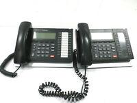 LOT OF 2 Toshiba Strata CIX IP5132-SD 20 Button IP VOIP GIGABIT Phone