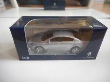 Norev Peugeot 508 in Grey on 1:64 in Box