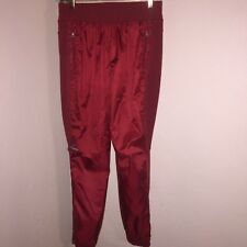 45cb97facb2c NWOT ADIDAS BY STELLA MCCARTNEY RED BARRICADE VENTED KNEE TENNIS PANTS SZ S