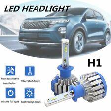 2pcs H1 Auto LED Headlight Kit 6000K White Canbus 160W 30000LM High Low Beams