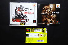METAL GEAR SOLID INTEGRAL +spine Sony PlayStation PS1 JAPAN Very.Good.Condition
