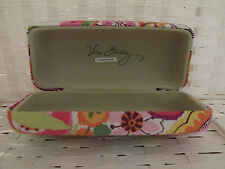 VERA BRADLEY SUNGLASSES CASE HARD COVER CLAMSHELL RETIRED CLEMENTINE FLORAL