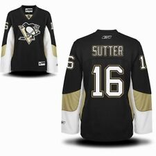 NHL Reebok Pittsburgh Penguins Hockey Sutter #16 Jersey Women's Medium M Tag