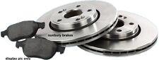 Landcruiser BRAKE DISCS & PADS 80 series FRONT 1991-92 Quality Aust STD Rotors