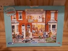 GIBSONS 1000 PIECE JIGSAW MEMORY LANE OUR HOUSE 1950'S