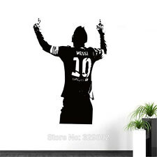 New Wallpaper Messi Wall Decor Sticker Cheering Soccer Sport Room Decal Poster
